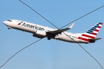 Civil Aircraft Photo, American Airlines Photograph Of Boeing 737 Plane Picture.