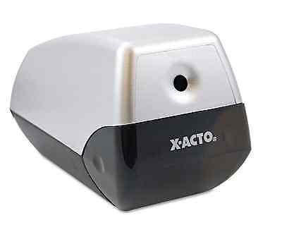 X-ACTO Model1900 Desktop Electric Pencil Sharpener Silver Black for Personal Use