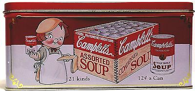 Tin Box Campbell's Soup Tin