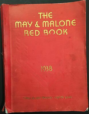 1938 May & Malone Catalog - Toys, Pedal Cars, Trains, Sports, Jewelry, Watches