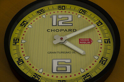 Chopard Time Wall Clock For Showroom