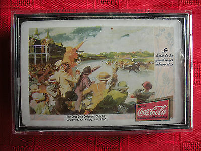 1990 Coca Cola Collectors Club Louisville Kentucky Convention Sealed Cards