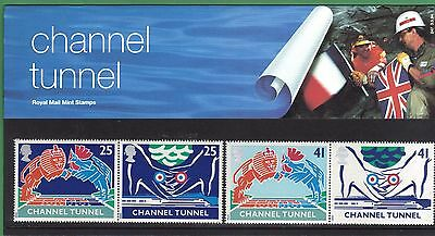 GB 1994 Opening of the Channel Tunnel Presentation Pack PP# 247