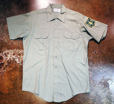US Forest Service Department Of Agriculture Official Field Shirt Patch Union