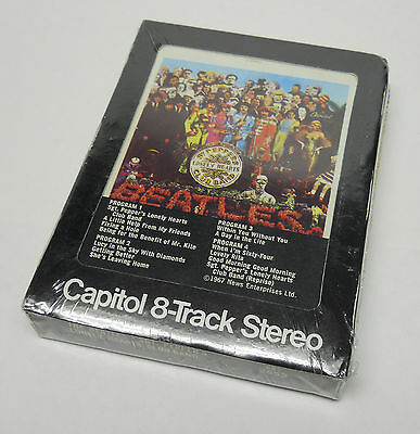 Beatles Sgt.Pepper's Lonely Heart's Club Band SEALED 8 track Capitol Records