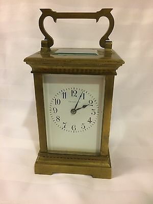 Antique Tiffany & Co Brass Carriage Made In France Working