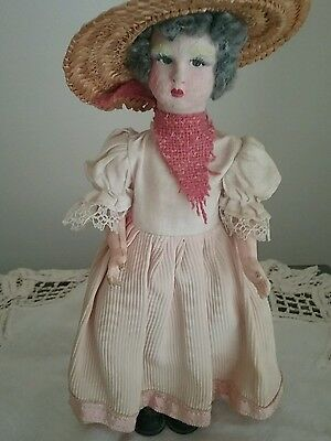 Vintage collectable doll plastic