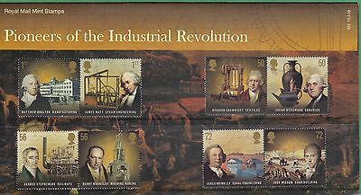 GB 2009 Pioneers of the Industrial Revolution: Presentation Pack #425