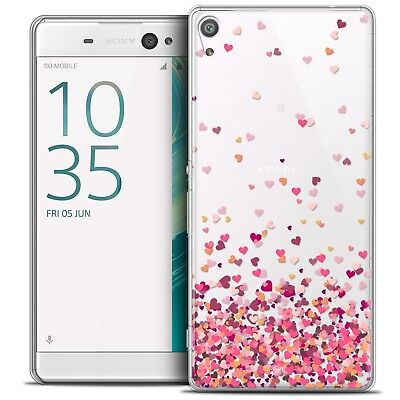 "Coque Crystal Xperia XA Ultra 6"" Extra Fine Rigide Sweetie Heart Flakes"