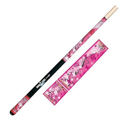 "HARD CORE GIRLY GIRL Pool CUE - Maple 2 piece 57"" - Snooker Billiards - Formula"