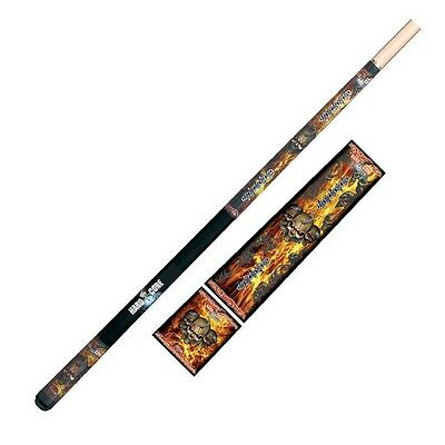 "HARD CORE GOTHIC Pool CUE - Maple 2 piece 57"" - Snooker Billiards - Formula"
