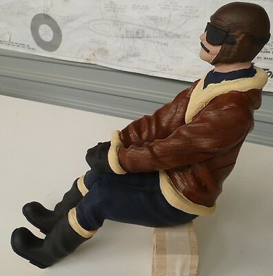 1/4 Scale Pilot -Full body- Stearman For RC Airplane