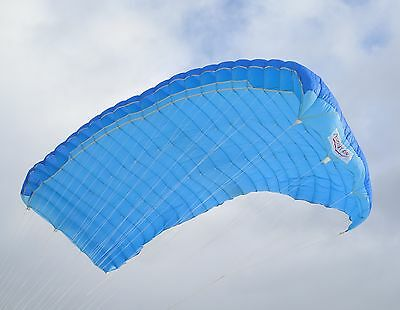 Super Evolution - hybrid skydiving parachute canopy by Para Flite w/ risers