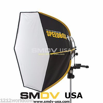 SMDV Diffuser Speedbox-S60 Professional Softbox - Speedlight Godox Quantum Flash