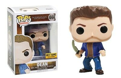 Funko POP! Dean with First Blade Hot Topic Exclusive Supernatural Vinyl Figure