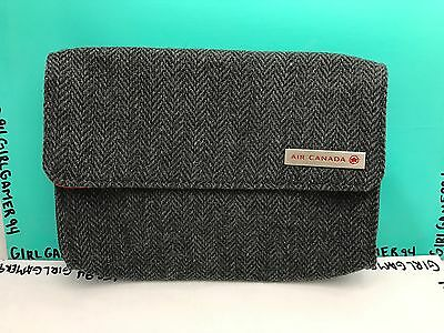 Air Canada Airlines - Airplane Travel Bag - Amenity Tote - Makeup/Shaving Case
