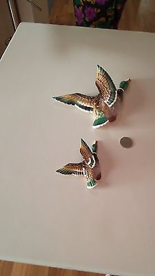 Wall Ducks--Set Of Two--Made In Japan