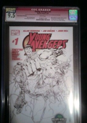 Marvel young avengers #1 cgc 9.5