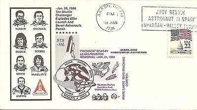 Space Shuttle Challenger Sts 51L Tragedy 1/28/86 Akron Ohio, Judy Resnik Home