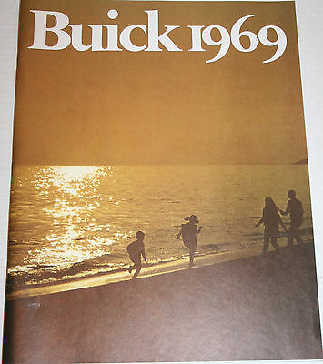 1969 BUICK Full Line Special to Electra 225 Prestige 76 page ORIGINAL Brochure