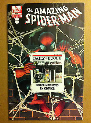 """AMAZING SPIDER-MAN #666 Rx COMICS """"DAILY BUGLE"""" STORE VARIANT VF/NM 1ST PRINTING"""
