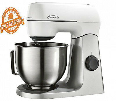 Food Mixer Blender Planetary Mixmaster Sunbeam Stainles Dough New Electric Motor