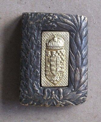 Wwi Austro-Hungarian Officer´s Belt Buckle / Honved