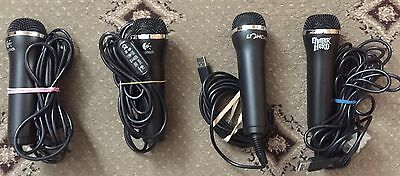 Brand New Universal Usb wired microphones for nintendo wii/ xbox / ps3 / ps4