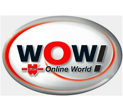 Wurth WoW 5.00.8 R2 Software With Keygen + assistenza via Teamviewer