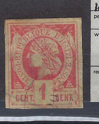 Haiti 1881 First Stamps Sg 1