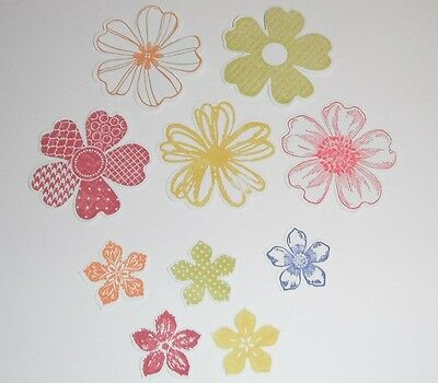 Stampin Up Flowers In Packs Of 20