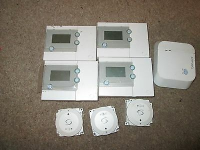 Salus central heating controls RT500 etc