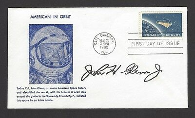 USA 1962 Man in Space FDC with John Glenn autopen signature