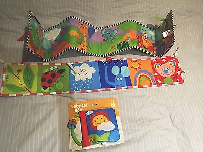 Baby Book Toy Bundle Tiny Love Taf Toys