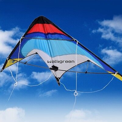 Flying Dual Line Control Sport Stunt kite Delta Outdoor Activiy Parachute WN