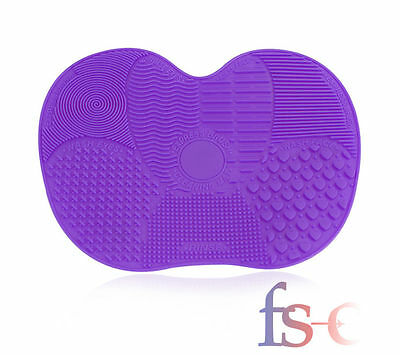 New Silicone Makeup Brush Cleaner Pad Cleaning Cosmetic Scrubber Board Mat Tool