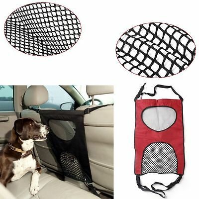 Car Seats Back Anti Harassment Separation Pet Dog Isolation Fence Cover Mesh New