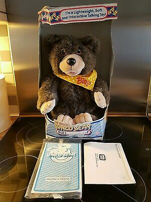 Vintage 1986 The Amazing Bingo Bear With Original Box And Instructions RARE