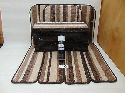 Stair pads 60cm Wide 29 off &3 Big Mats with a FREE 2 can of SPRAY GLUE 1017-2