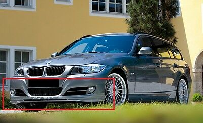 Bmw 3 Series E90 E91 Front Bumper Spoiler Valance Skirt Alpina Look After Lift
