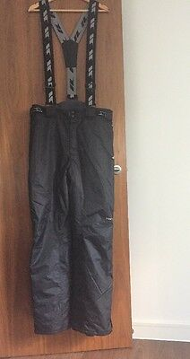 NEW Black Ski Trousers For Men - Size XL