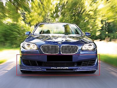 Bmw 5 Series F10 F11 From 2010 Front Bumper Spoiler Valance Skirt Alpina Look
