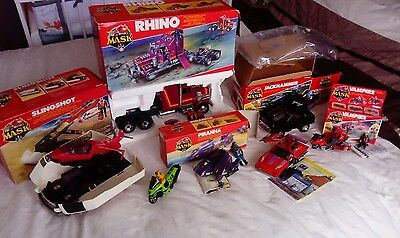 M.A.S.K job lot in very good condition