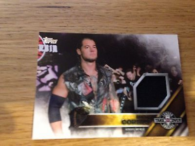 WWE 2K17 Topps BARON CORBIN London Takeover Authentic Mat Relic Card RARE