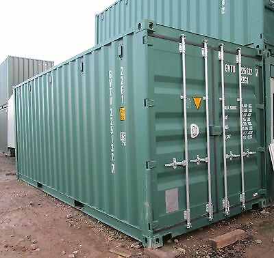 New Green/Blue 20' x 8' Shipping Containers