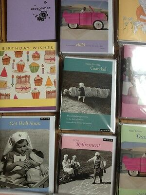 Top End High Quality Greeting Birthday Cards Wholesale Job Lot 200 Cards