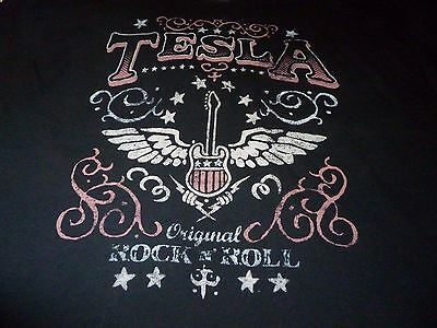 Tesla Tour Shirt ( Used Size XL ) Very Good Condition!!!