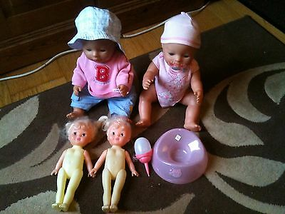 Baby Born Dolls Bundle & 2 Other Dolls, Excellent Gift