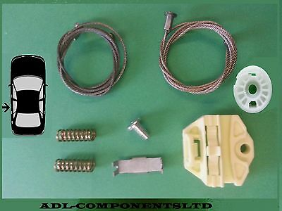 N//S Near side AUDI A3 ELECTRIC AND MANUAL WINDOW REGULATOR REPAIR CLIPS FRONT LEFT SIDE 1996-2003 UK Passenger Side