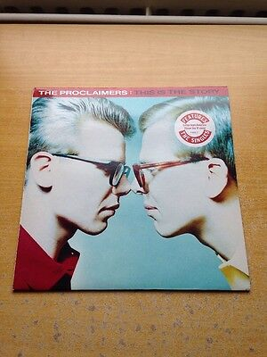 The Proclaimers - This Is The Story LP Folk Rock Pop Billy Bragg Unthanks Joni